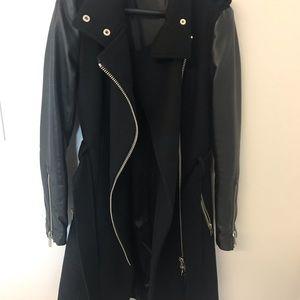 Mackage Jackets & Coats - Mackage Leather Sleeve Jacket